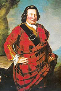 Charles Campbell of Lochlane, painted sometime before 1745.